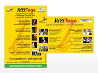 Zeitungsanzeigen für das Jazz-Forum Aidlingen e.V.