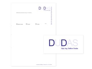 Logo und Briefpapier für DUDAS