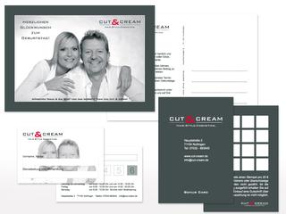 Kundenpflege für Cut & Cream