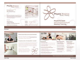 Flyer für Physio Basics
