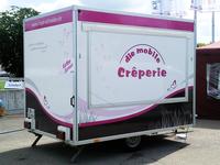 Vollbeklebung für den Crêpe-Wagen