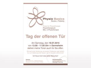 Plakat für Physio Basics