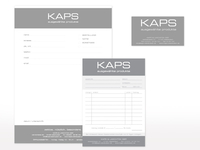 Geschäftsausstattung für KAPS