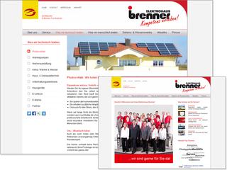 TYPO3 für Elektrohaus Brenner GmbH