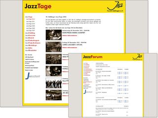 TYPO3 für das Jazz-Forum Aidlingen e.V.