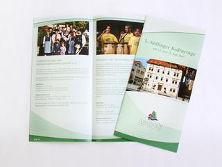 Kulturbroschüre für die Gemeinde Aidlingen