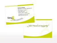 Visitenkarten für Cena