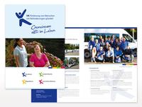 Broschüre für die VK gGmbH