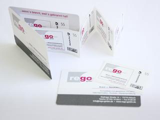 Briefmarken für rego GmbH