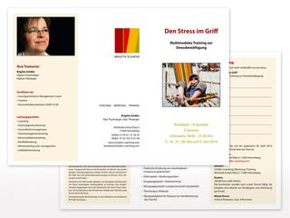 Flyer für Schäfer Coaching