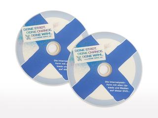 CD-Cover und Programmierung