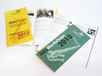Broschüren Jahresprogramm und Workshops