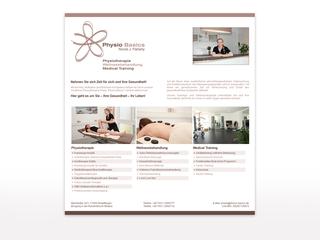 Webseite für Physio Basics
