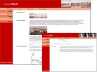 Webseite für Ursula Hosch