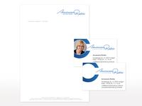 Geschäftsausstattung für Annemarie Richter