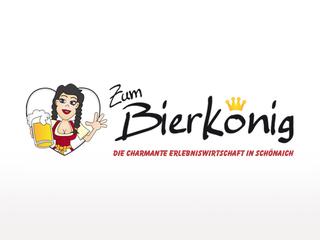 """Logo """"Zum Bierkönig"""""""