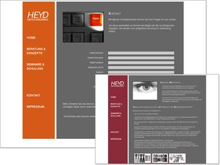 Webseite für Heyd MT