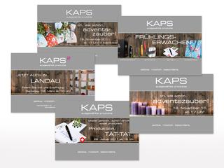 Saisonale Flyer für KAPS
