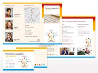 Flyer und Visitenkarte für die Praxis
