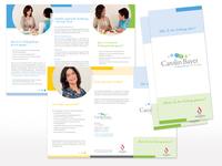 Flyer für Carolin Bayer