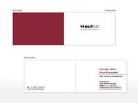 Visitenkarte für Hautnah Kosmetik Institut