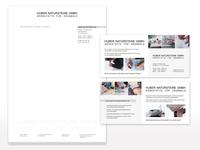 Geschäftsausstattung für Huber Natursteine GmbH