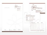Geschäftsausstattung für Physio Basics